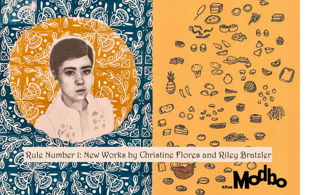 March's First Friday at The Modbo: Rule Number 1: New Works by Christine Flores and Riley Bratzler