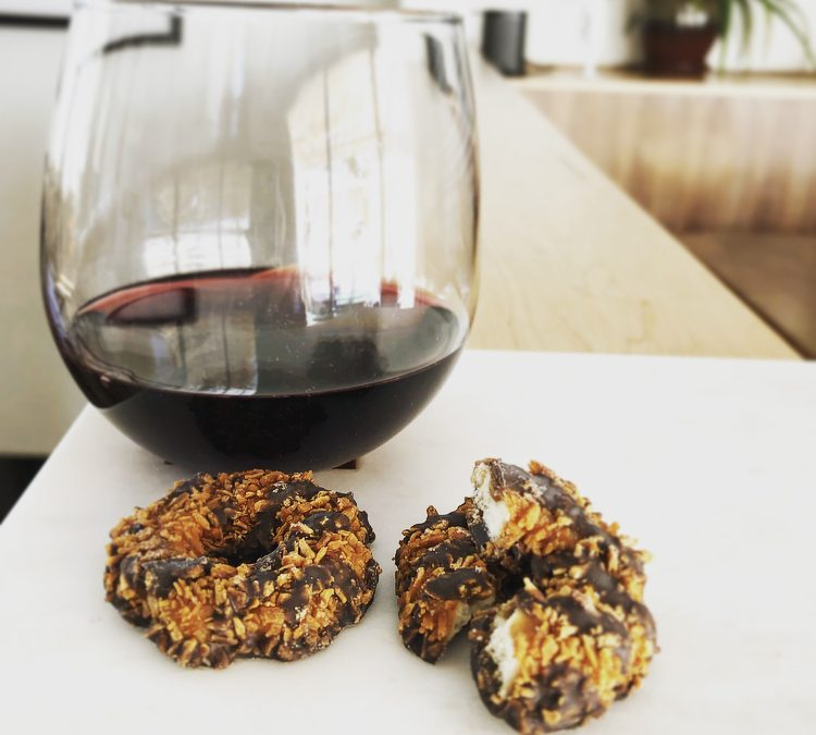 Wine + Cookies= Drinking Like a Grown Up