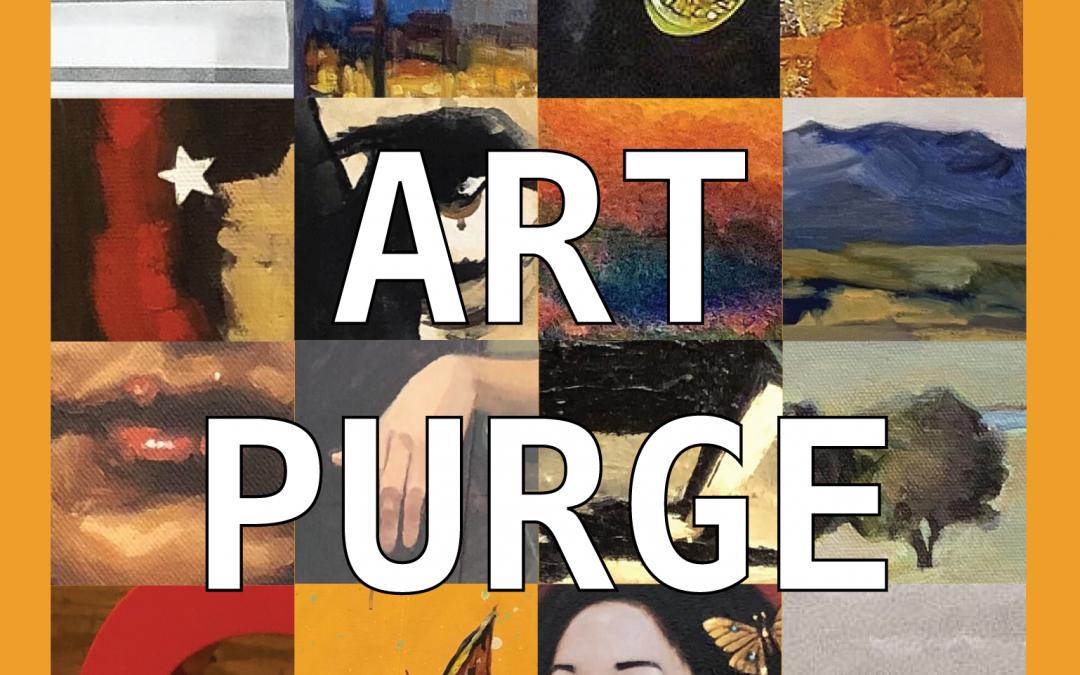 Art Purge: A One Night Art Sale at Kreuser Gallery!