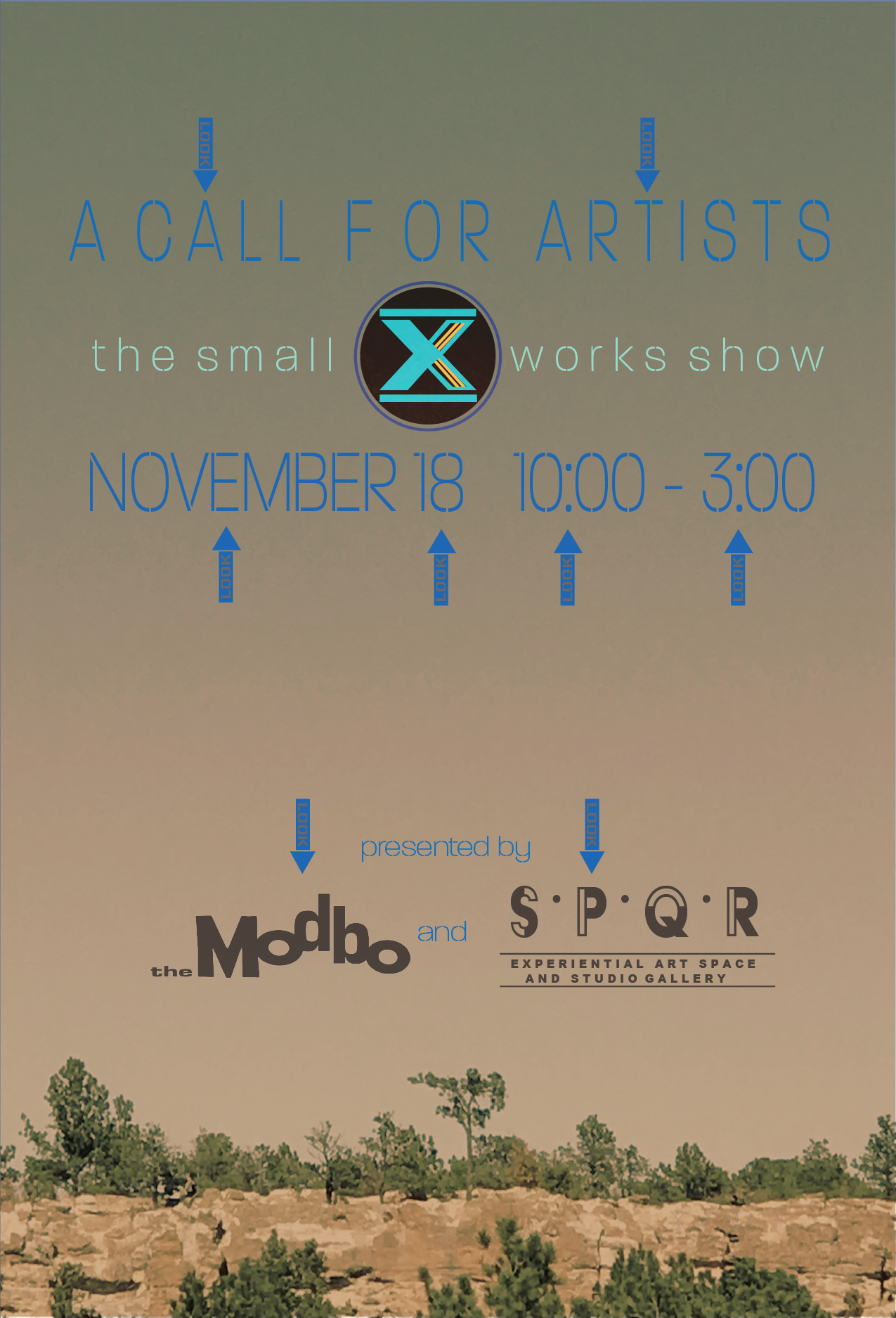 A Call for Artists: it's the Tenth Annual Small Works Exhibition!