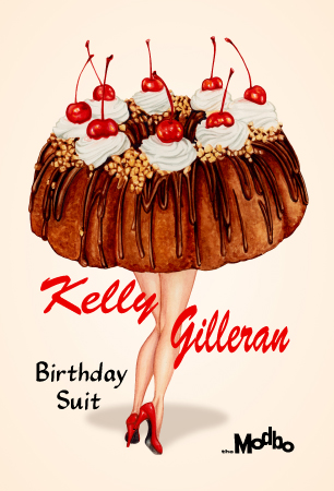 February's First Friday at The Modbo: Birthday Suit by Kelly Gilleran!