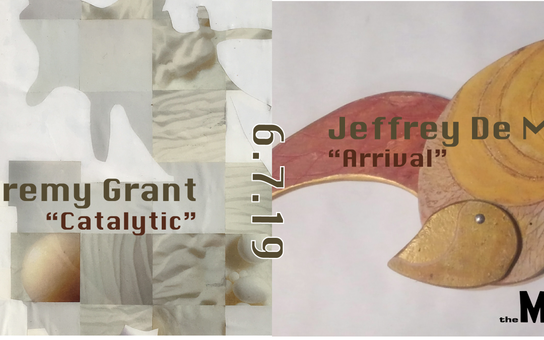 "June's First Friday at The Modbo: ""Catalytic"" by Jeremy Grant and ""Arrival"" by Jeffrey de Mers"