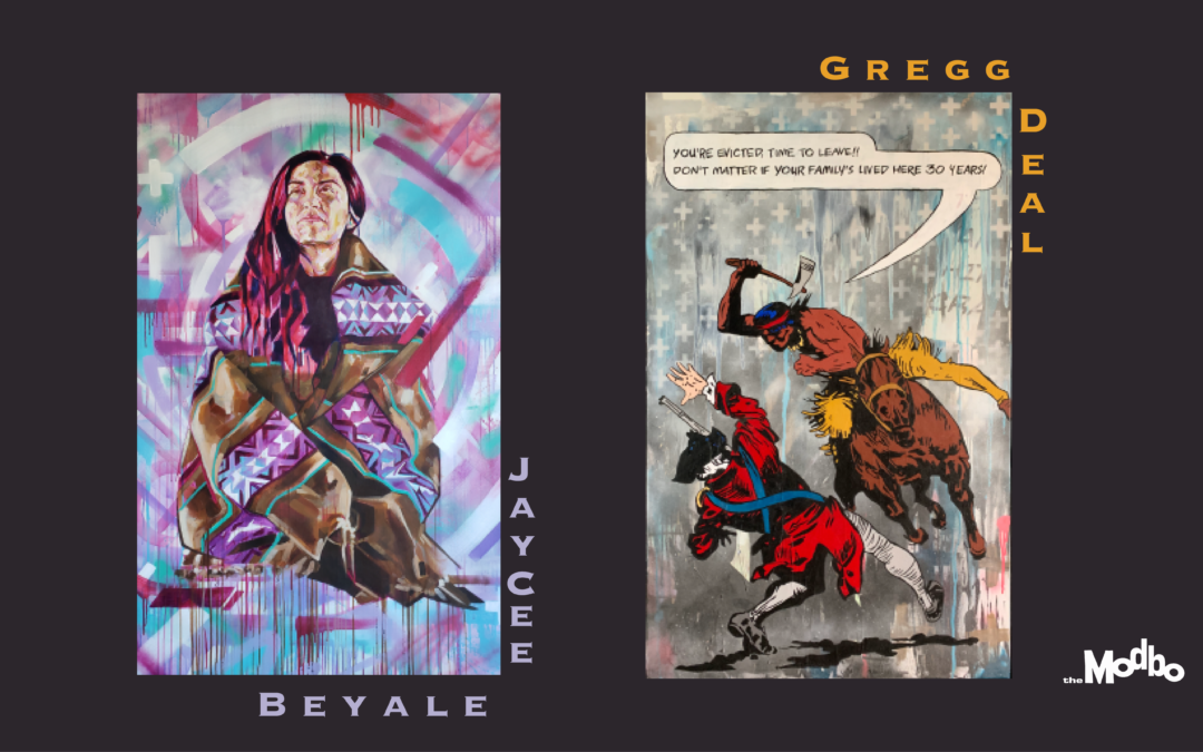 Modern Storytellers by JayCee Beyale and Gregg Deal