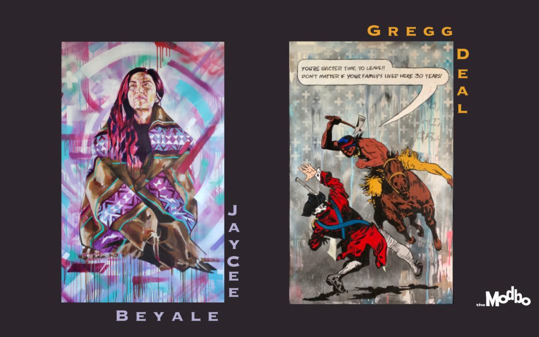 Modern Storytellers by JayCee Beyale and Gregg Deal